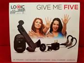 Logic Give Me Five Cell Phone Accessory Pack